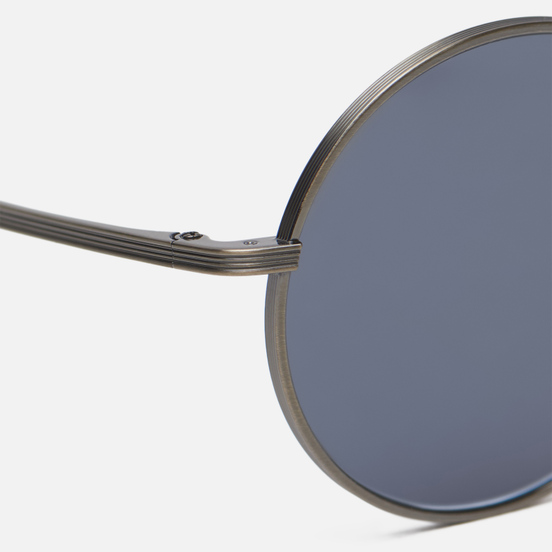 Солнцезащитные очки Oliver Peoples The Row After Midnight Brushed Pewter/Blue