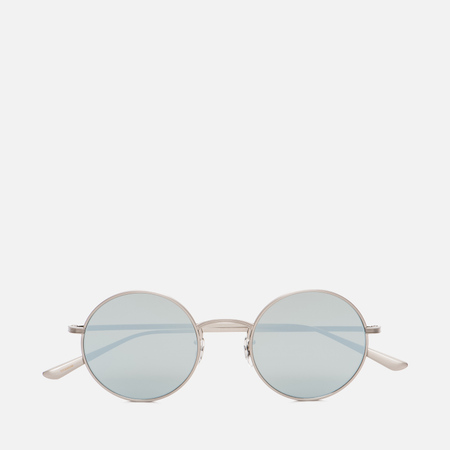 Солнцезащитные очки Oliver Peoples The Row After Midnight Brushed Silver/Silver Mirror Glass