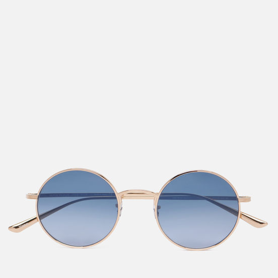 Солнцезащитные очки Oliver Peoples The Row After Midnight Gold/Marine Gradient