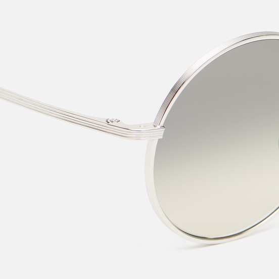 Солнцезащитные очки Oliver Peoples The Row After Midnight Silver/Shale Gradient