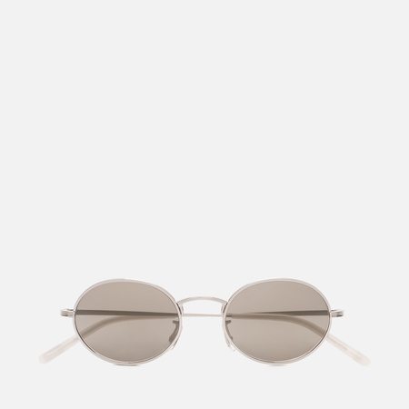 Солнцезащитные очки Oliver Peoples The Row Empire Suite Silver/Grey Goldtone Glass