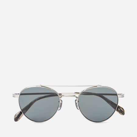 Солнцезащитные очки Oliver Peoples Watts Sun Brushed Silver/Grey