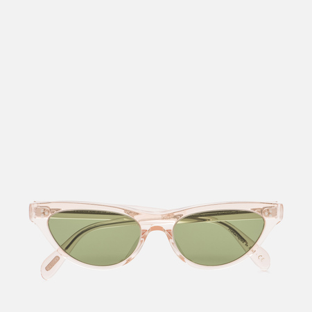 Солнцезащитные очки Oliver Peoples Zasia Light Silk/Green C Glass