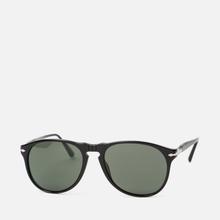 Солнцезащитные очки Persol 649 Series Black/Green Polar фото- 1