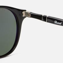 Солнцезащитные очки Persol 649 Series Black/Green Polar фото- 3