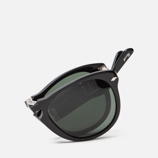 Солнцезащитные очки Persol 714 Series Steve Mcqueen Black/Green Polar