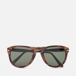 Солнцезащитные очки Persol 714 Series Steve Mcqueen Caffe/Green Polar