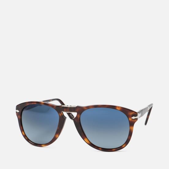 Солнцезащитные очки Persol 714 Series Havana/Blue Gradient Polar