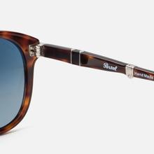 Солнцезащитные очки Persol 714 Series Steve Mcqueen Havana/Blue Gradient Polar фото- 2