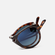 Солнцезащитные очки Persol 714 Series Steve Mcqueen Havana/Blue Gradient Polar фото- 4