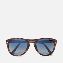 Солнцезащитные очки Persol 714 Series Steve Mcqueen Havana/Blue Gradient Polar фото- 0