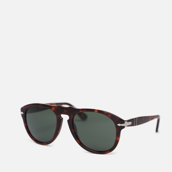Солнцезащитные очки Persol 649 Series Acetate Icons Havana/Crystal Green