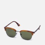 Солнцезащитные очки Persol Cellor Series Terra di Siena/Green фото- 1