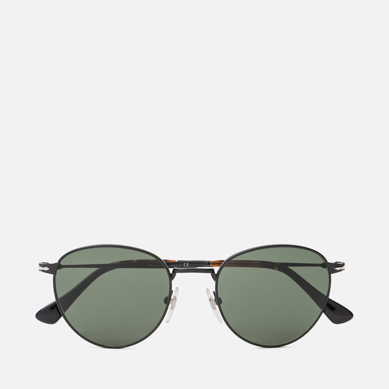Солнцезащитные очки Persol PO2445S Metal Capsule Black/Green
