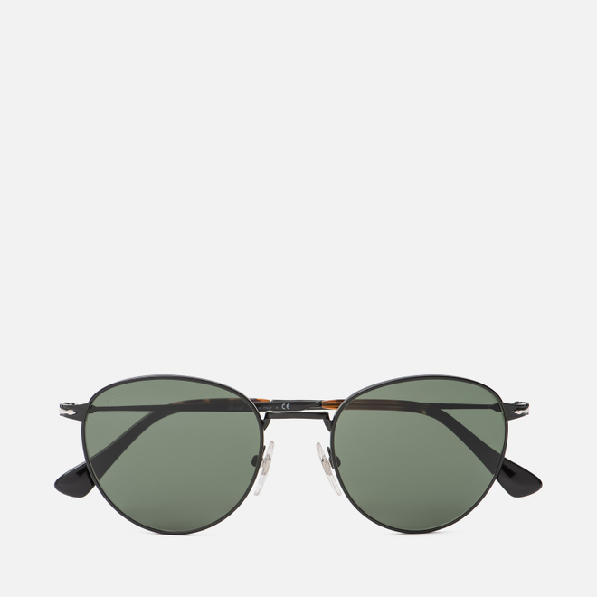 Солнцезащитные очки Persol PO2445S Metal Capsule Black/Green