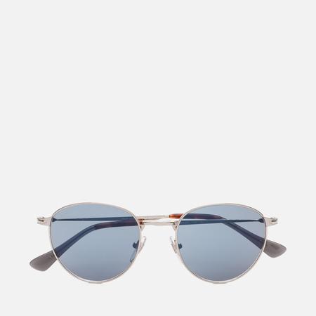 Солнцезащитные очки Persol PO2445S Metal Capsule Silver/Light Blue