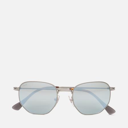 Солнцезащитные очки Persol PO2446S Metal Capsule Gunmetal Light Green  Mirror Silver 725fb85c6c0cc