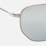Солнцезащитные очки Persol PO2446S Metal Capsule Gunmetal/Light Green Mirror Silver фото- 2