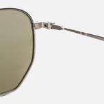Солнцезащитные очки Persol PO2446S Metal Capsule Gunmetal/Light Green Mirror Silver фото- 3