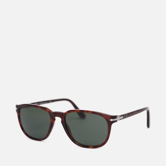 Солнцезащитные очки Persol PO3019S Havana/Crystal Green