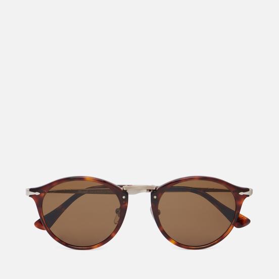 Солнцезащитные очки Persol PO3166S Calligrapher Edition Havana/Polarized Brown