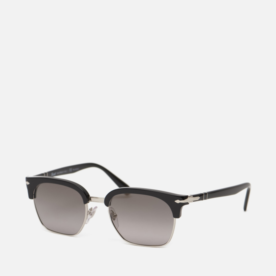 Солнцезащитные очки Persol PO3199S Cellor Evolution Black/Silver/Polarized Grey Gradient