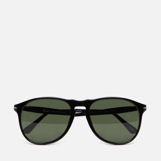 Солнцезащитные очки Persol PO9649S 649 Series Black/Polarized Green
