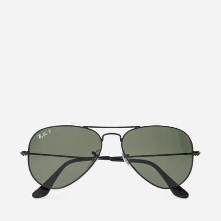 Солнцезащитные очки Ray-Ban Aviator Black/Green Classic G-15