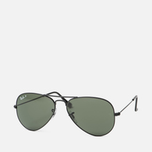 Солнцезащитные очки Ray-Ban Aviator Classic G-15 Black/Green фото- 1