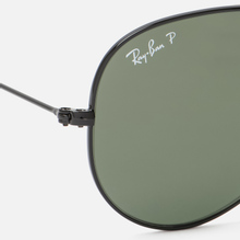 Солнцезащитные очки Ray-Ban Aviator Classic G-15 Black/Green фото- 2