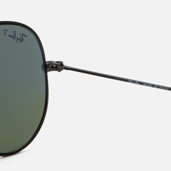 Солнцезащитные очки Ray-Ban Aviator Classic G-15 Black/Green
