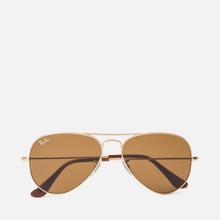 Солнцезащитные очки Ray-Ban Aviator Classic B-15 Gold/Brown фото- 0
