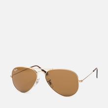 Солнцезащитные очки Ray-Ban Aviator Classic B-15 Gold/Brown фото- 1