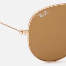 Солнцезащитные очки Ray-Ban Aviator Classic B-15 Gold/Brown фото- 2