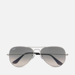 Солнцезащитные очки Ray-Ban Aviator Large Metal Silver/Grey Gradient