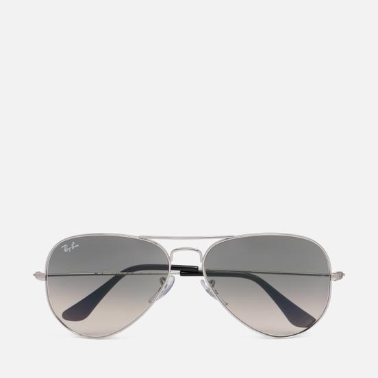 Солнцезащитные очки Ray-Ban Aviator Large Metal Silver/Grey Gradient