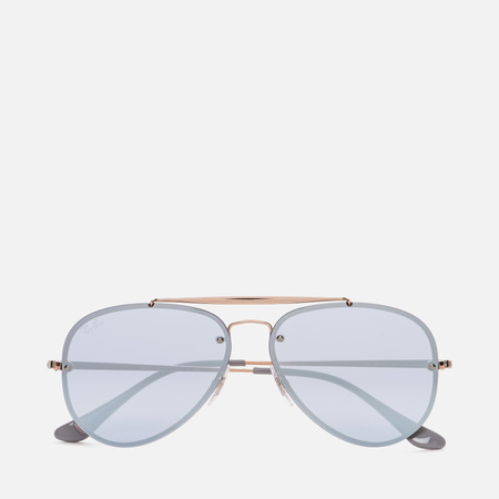 Солнцезащитные очки Ray-Ban Blaze Aviator Bronze/Copper/Violet Mirror