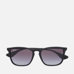 Солнцезащитные очки Ray-Ban Chris Rubber Black/Gradient Grey