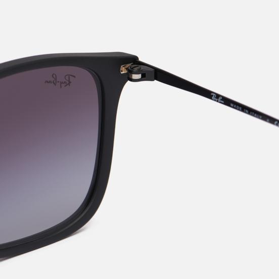 Солнцезащитные очки Ray-Ban Chris Rubber Black/Gradient Grey