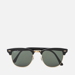 Солнцезащитные очки Ray-Ban Clubmaster Classic G-15 Black/Green