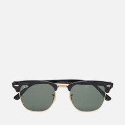 Солнцезащитные очки Ray-Ban Clubmaster Ebony/Arista/Green