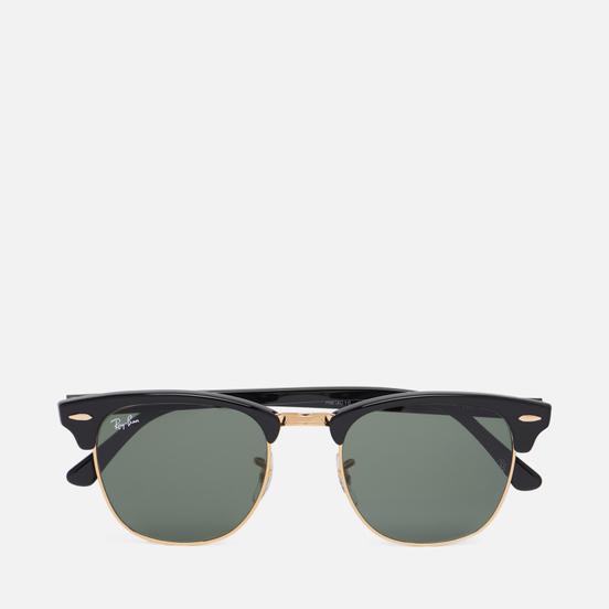 Солнцезащитные очки Ray-Ban Clubmaster Ebony/Arista/Green