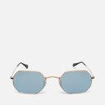 Солнцезащитные очки Ray-Ban Designer Gold Mirror Lens фото- 0