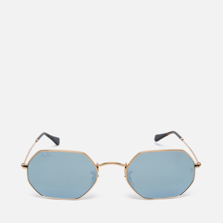 Ray-Ban Designer Sunglasses Gold Mirror Lens