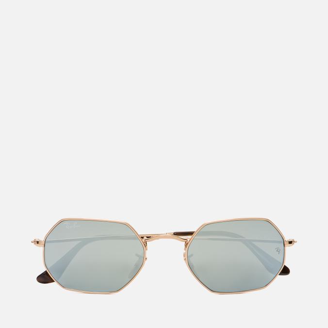 Солнцезащитные очки Ray-Ban Designer Gold Mirror Lens