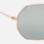 Солнцезащитные очки Ray-Ban Designer Gold Mirror Lens фото- 3
