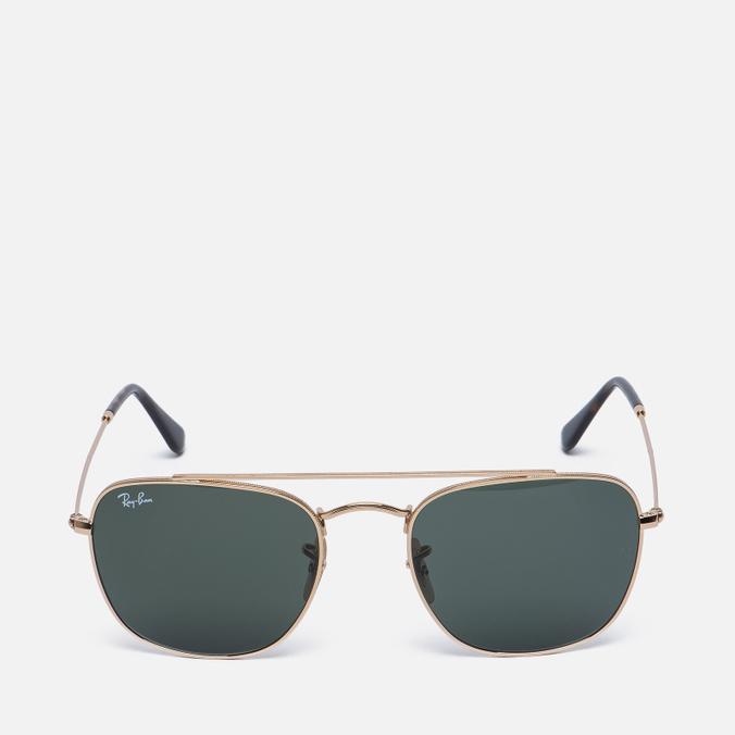 Солнцезащитные очки Ray-Ban Double Bridge Gold/Green Classic G-15