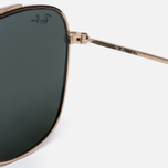 Солнцезащитные очки Ray-Ban Double Bridge Gold/Green Classic G-15 фото- 3