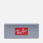 Солнцезащитные очки Ray-Ban Double Bridge Gold/Green Classic G-15 фото- 4