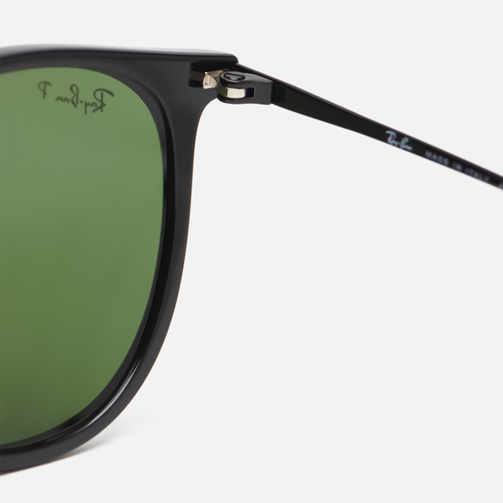 Солнцезащитные очки Ray-Ban Erika Classic Black/Polarized Green Classic G-15